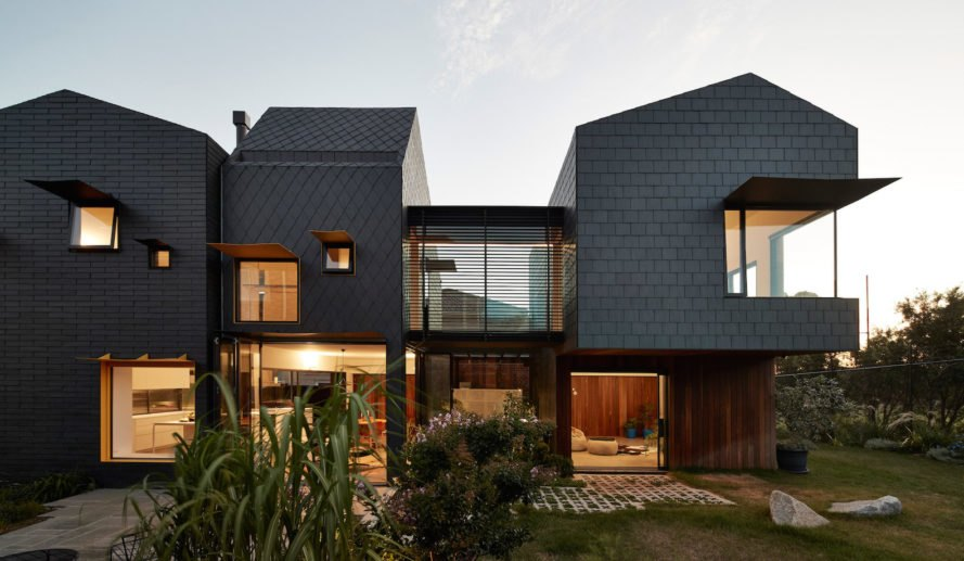 Charles House in Kew, Charles House by Austin Maynard Architects, sustainable Kew Housing, anti McMansions in Australia, multigenerational house, multigenerational house design in Australia