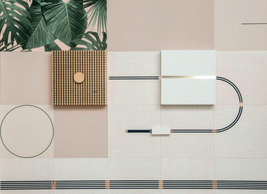 Brilliant Conductive Wallpaper Shows The Energy Running Through