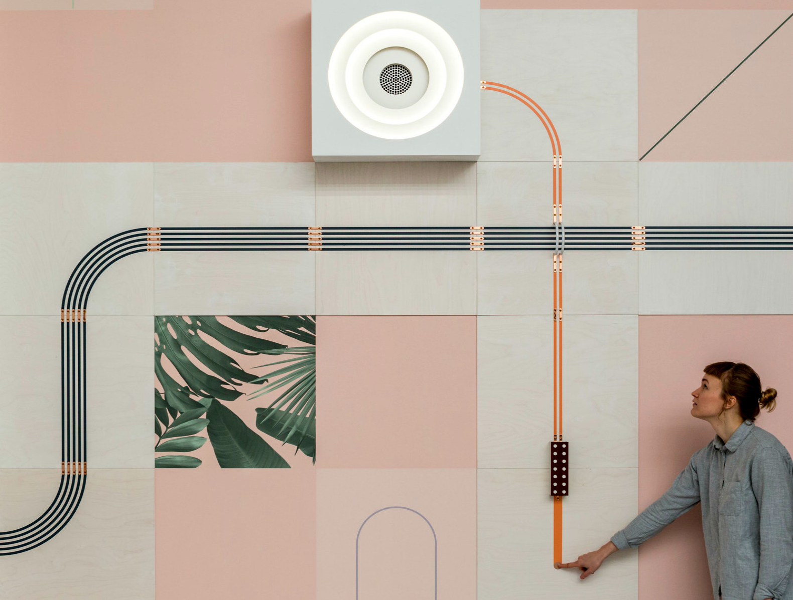 Brilliant Conductive Wallpaper Shows The Energy Running