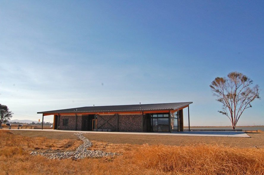 Cooley Landing Education Center by FOG Studio, 2016 Architizer A+ Awards Gallery winner, learning center in San Francisco Bay, reclaimed landfill San Francisco Bay, tidal sloughs landscape design,