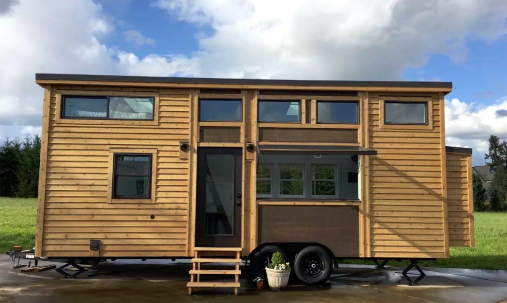 The 60k tiny house of the future can be controlled with a for Smarter small homes