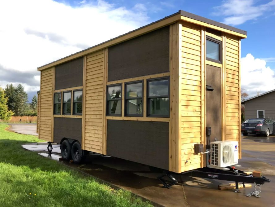 The 60k tiny house of the future can be controlled with a for Small homes built on trailers