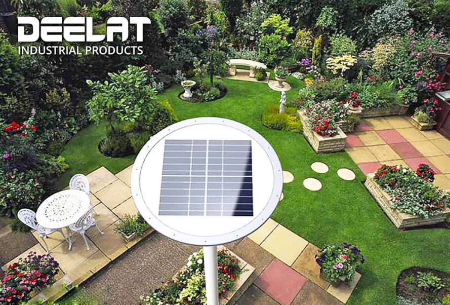 DEELAT, Solar Powered Lights, Solar Lights, Solar Light, Outdoor Solar  Light,
