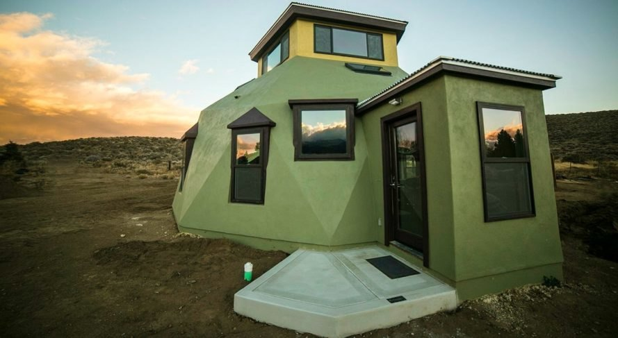 Envirohaven\'s super green geodesic homes can be built in just a ...