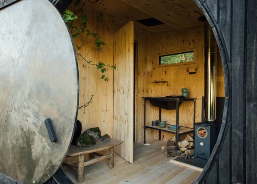 Epic Retreats,Wales glamping cabins, tiny home competition, epic retreats competition, tiny home wales, tiny homes, glamping cabins wales, traveling glamping cabins, glamping cabins, glamping events, Cabins in the Wild, Miller Kendrick Architects, Rural Office for Architecture, Trias