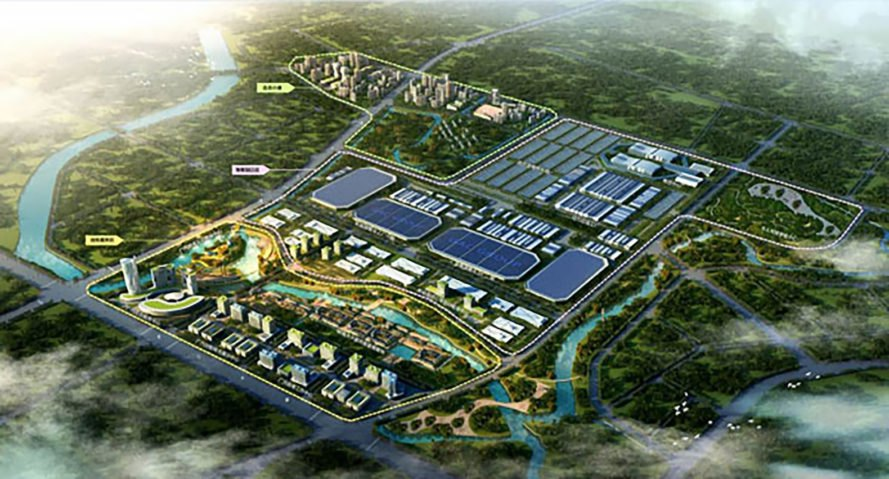 GAC, GAC Motor, GAC Group, China, Guangzhou Automobile Intelligent Industrial Park, industrial park, electric, electric car, electric cars, electric vehicle, electric vehicles, research, development, production, manufacturing