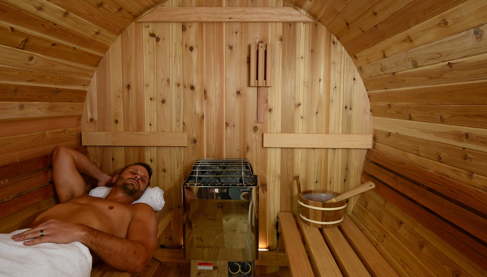 how to build a sauna in your house