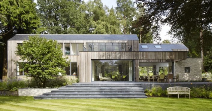 Airtight prefab House in the Woods pops up in just ten days