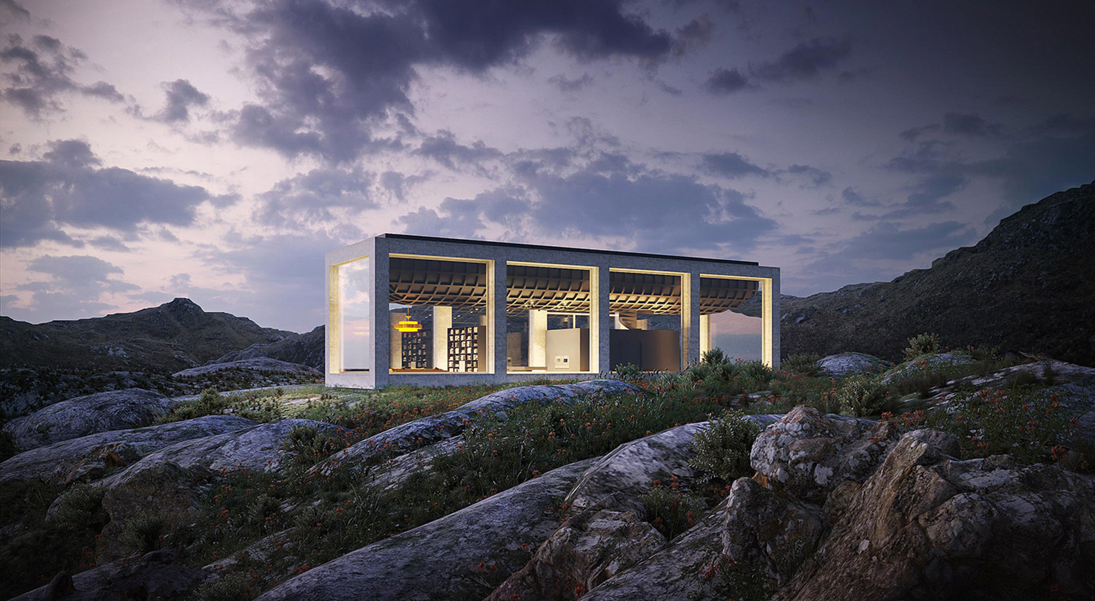 Norway's breathtaking Infinity House has giant windows instead of walls