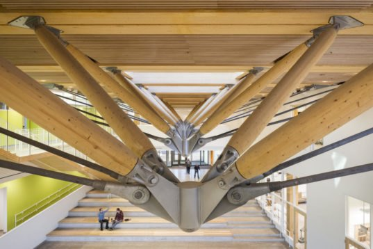 Nation S Largest Cross Laminated Timber Academic Building