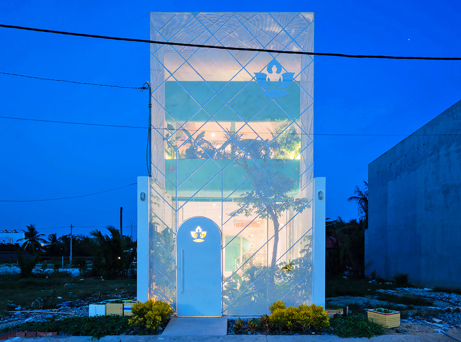 Glowing See Through Garden House Lets Plants Soak Up The Sun