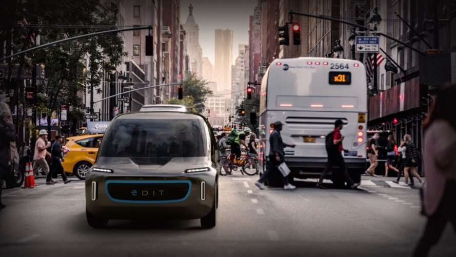 OSVehicle, OSVehicle EDIT, EDIT, self-driving ev, self-driving car, electric car, green car, green transportation