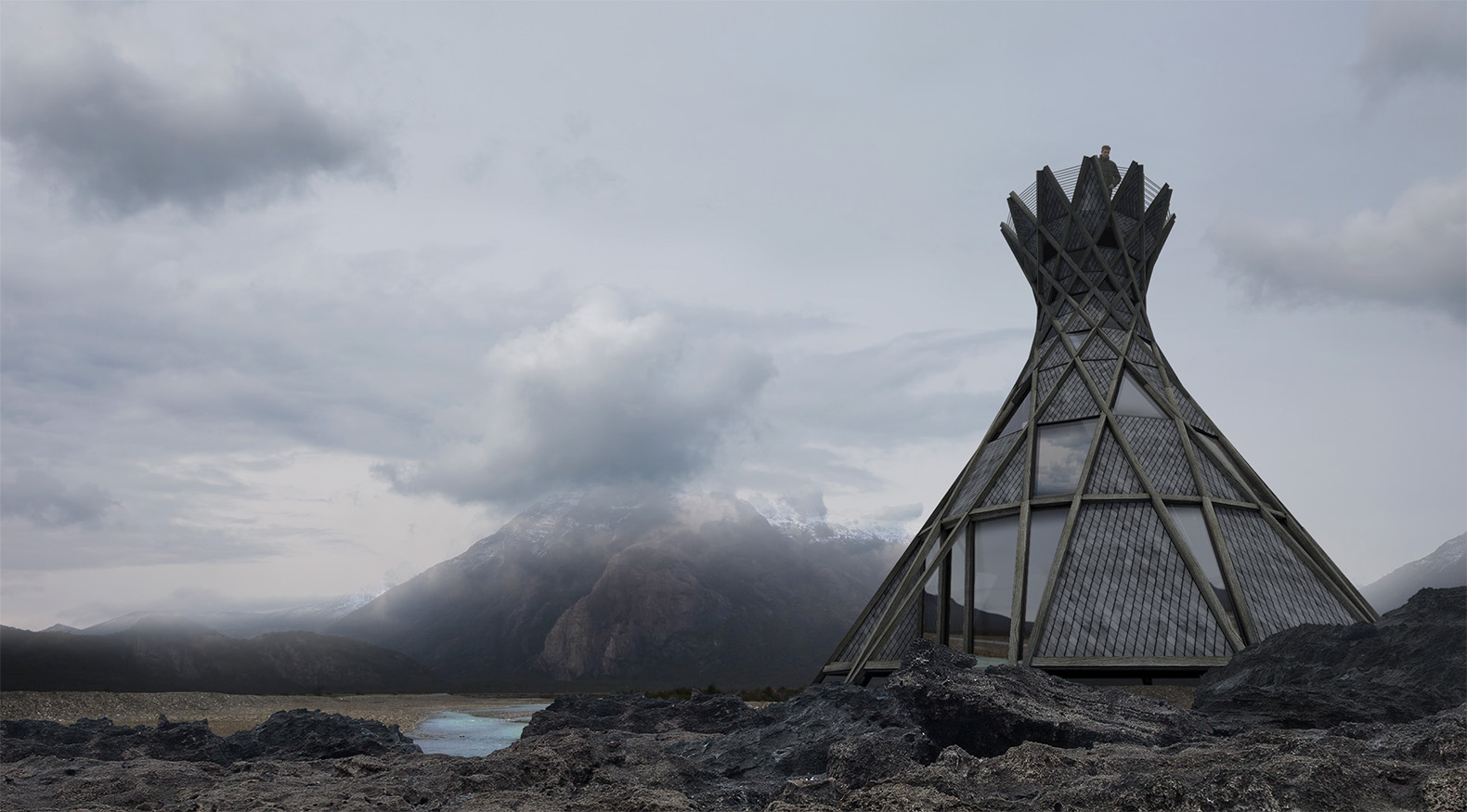 Incredible Teepee Shaped Orka House Is Made From 24