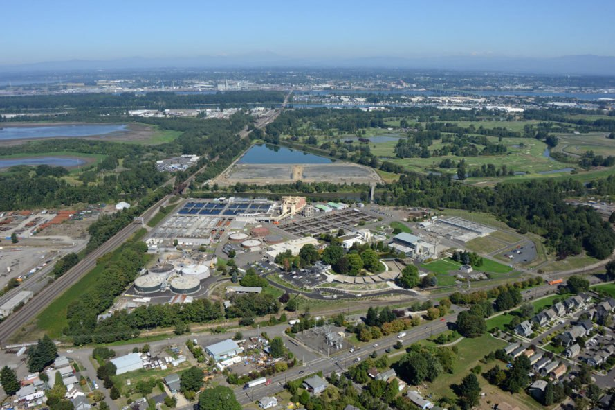 Portland, Columbia Boulevard Wastewater Treatment Plant, methane, waste methane, waste product, sewage, sewage treatment plant, wastewater treatment plant, renewable natural gas, RNG, natural gas, greenhouse gas, greenhouse gases, alternative fuel, alternative energy, fuel, diesel