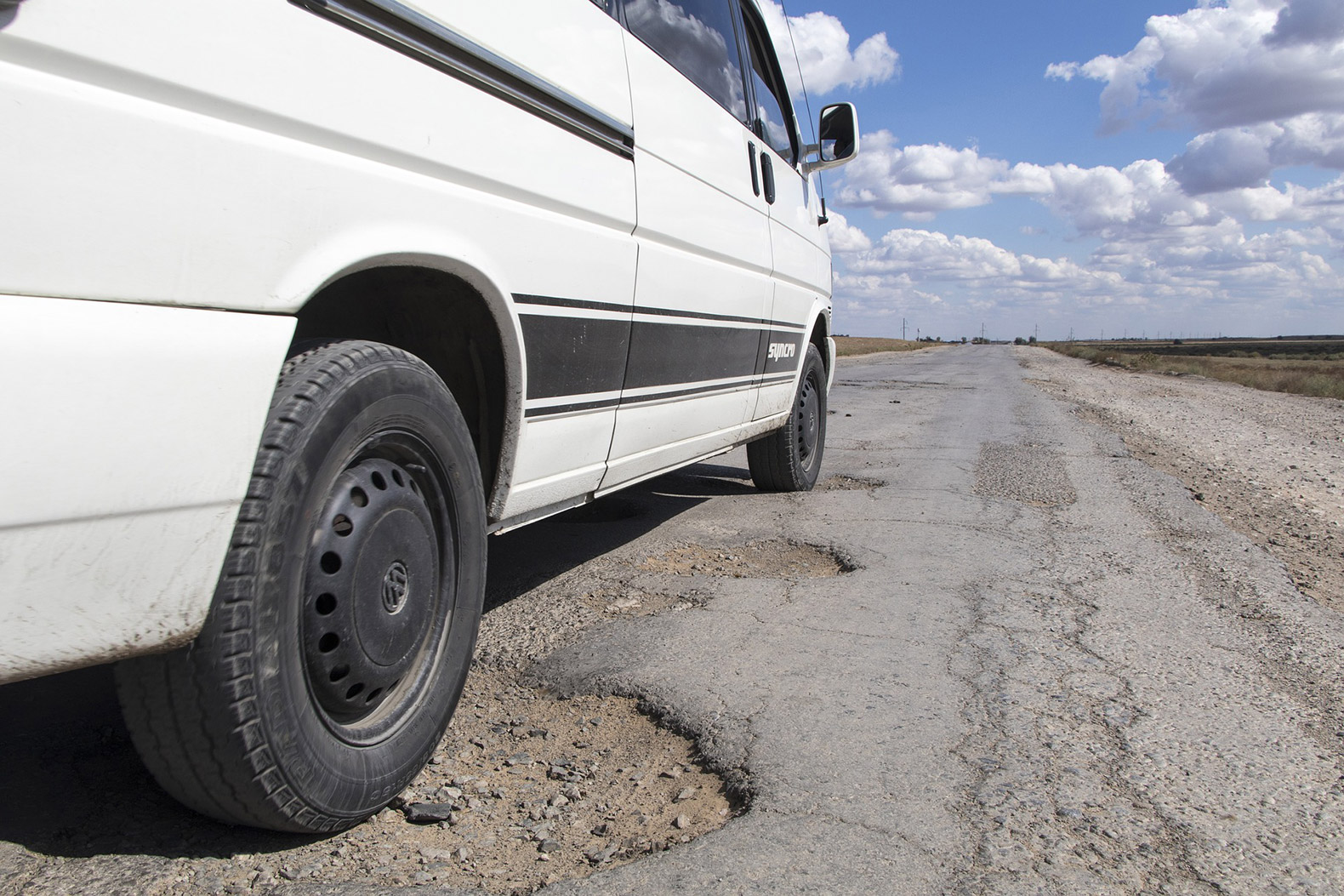 The Netherlands is developing self-healing roads that fix potholes automatically