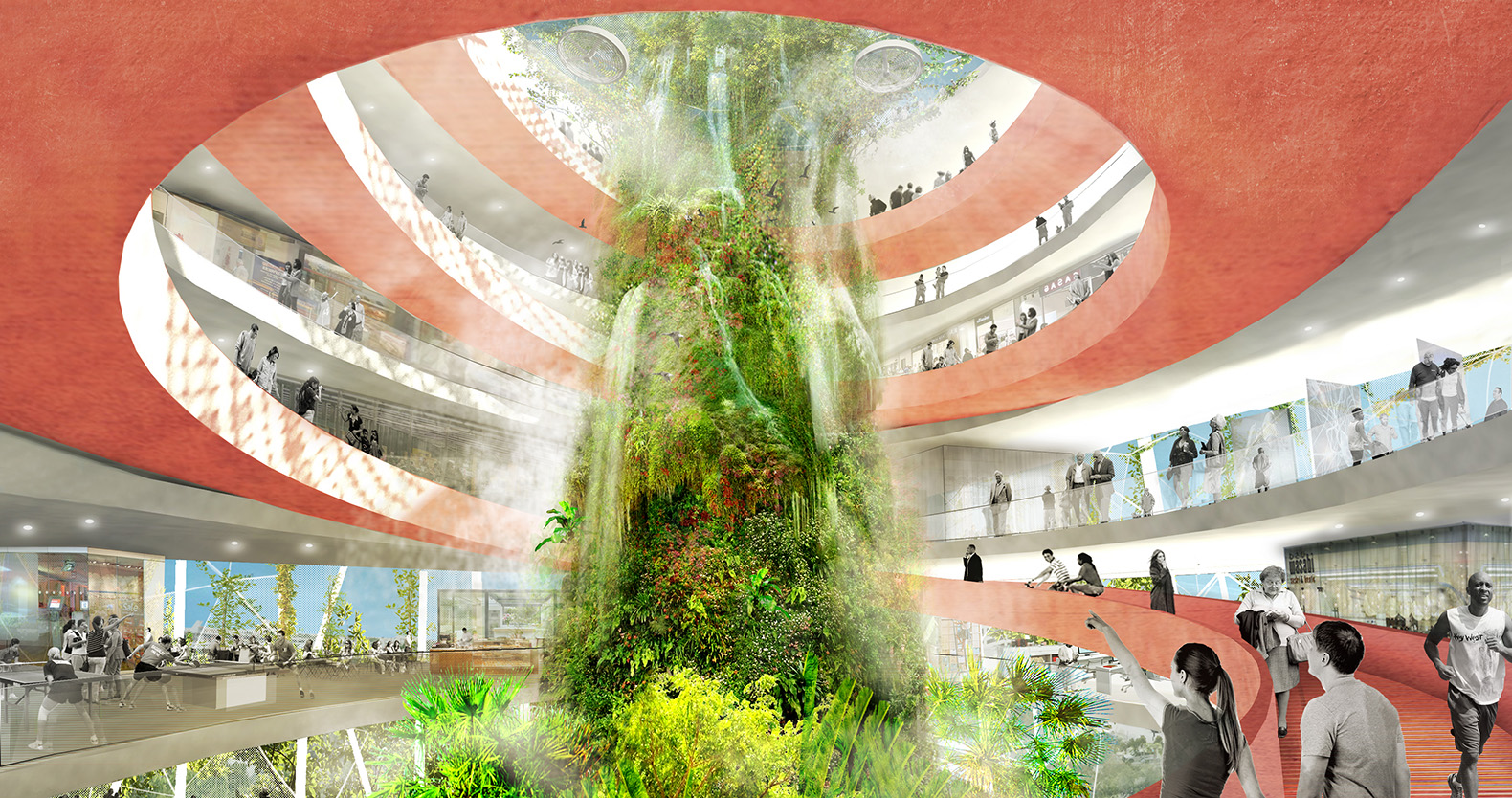 Ecosistema Urbano envisions bioclimatic domes for Florida\'s West ...