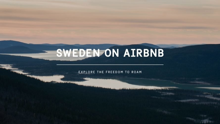 Sweden, Visit Sweden, Airbnb, free travel, listing, outdoors,