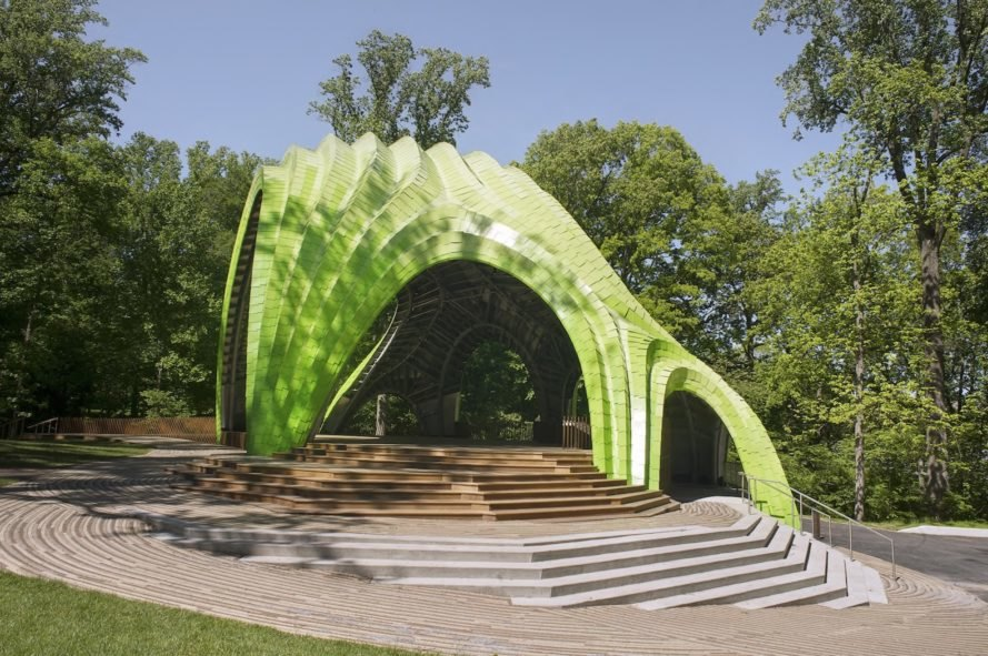 The Chrysalis by THEVERYMANY, Merriweather Park amphitheater, Merriweather Park The Chrysalis, The Chrysalis Maryland, The Chrysalis by Zahner, THEVERYMANY in Maryland,