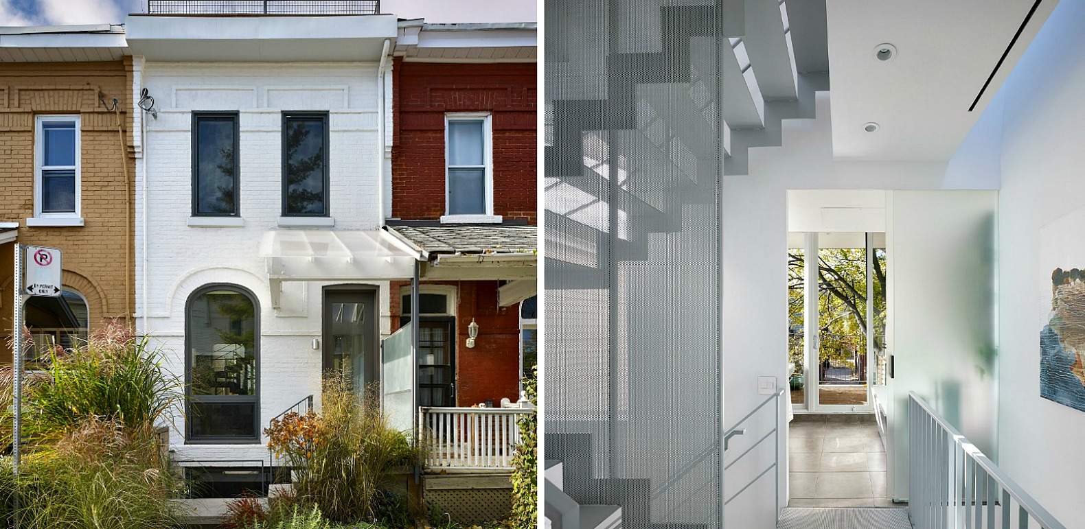 Modern Aluminum Addition Blends Seamlessly In With 19th