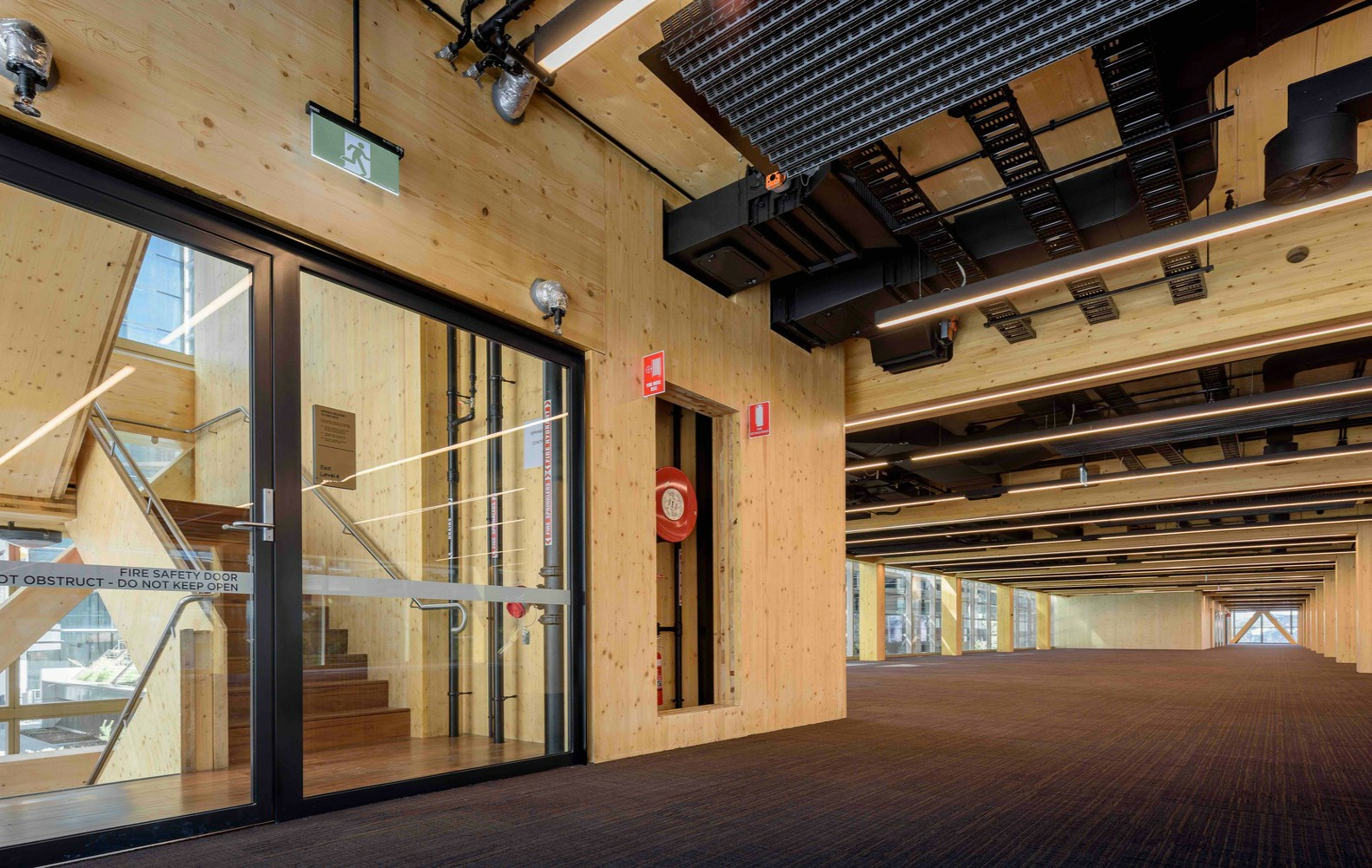 Australia S Largest Commercial Timber Building Rises In