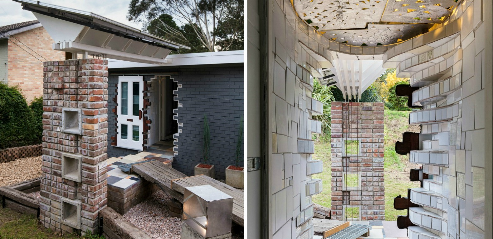 Australia 39 s amazing upcycle house is made from the ruins for Home building blog