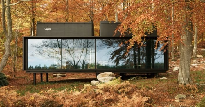 """These minimalist prefab cabins are designed for human """"recharging"""""""