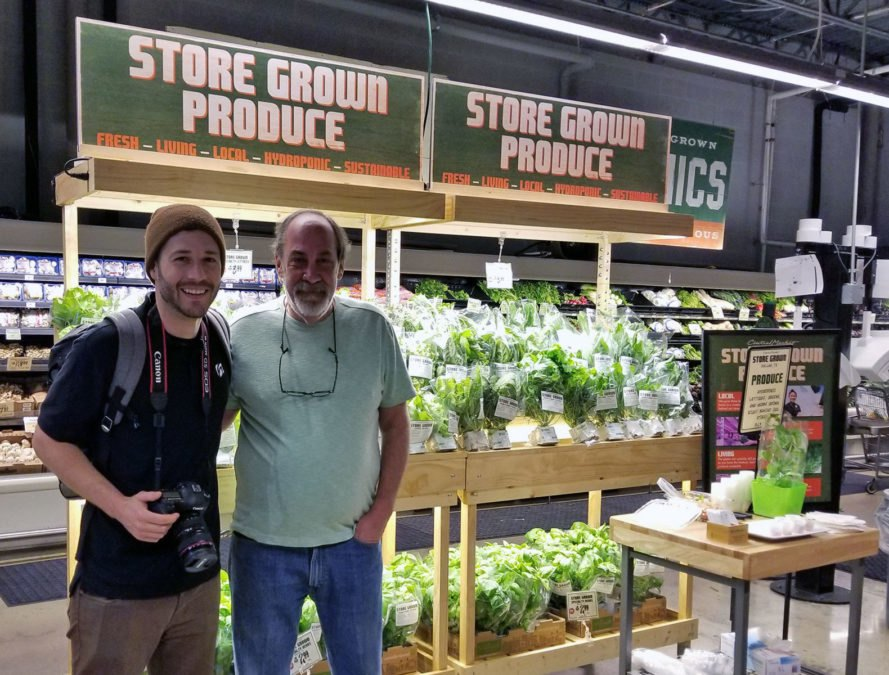 Growtainer, Central Market, Dallas, Texas, food, supermarkets, farming