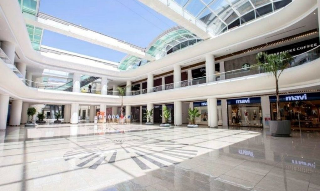 Tesla Roof Solar Panels >> Innovative retractable glass roof can convert a mall into an outdoor space at the touch of a ...