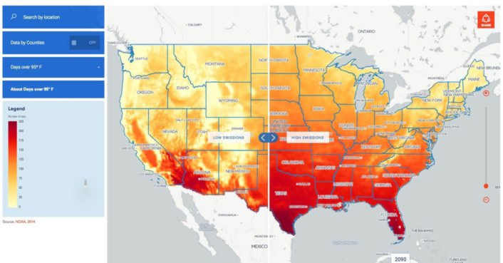 New NOAA tool shows how climate change will affect your neighborhood