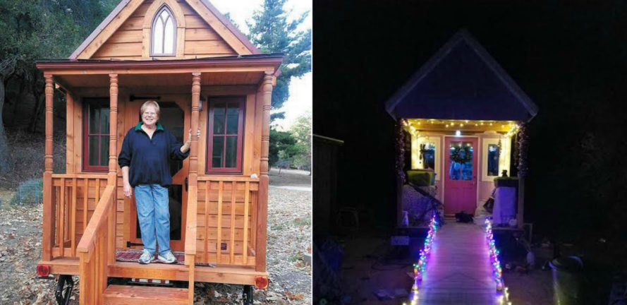 Savvy seniors are buying tiny homes to enjoy their golden for Small houses for seniors
