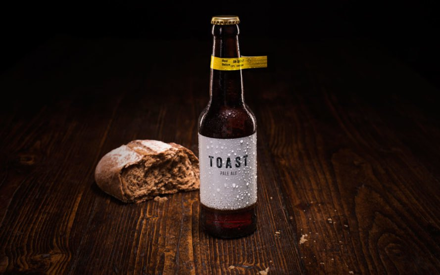 Toast Ale, food waste, beer, recycled bread, London, New York City