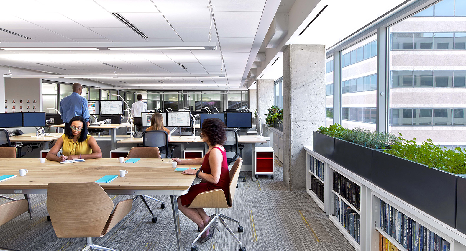 The American Society Of Interior Designers ASID Headquarters In Washington DC Was Just Named Greenest And Healthiest Office On Planet