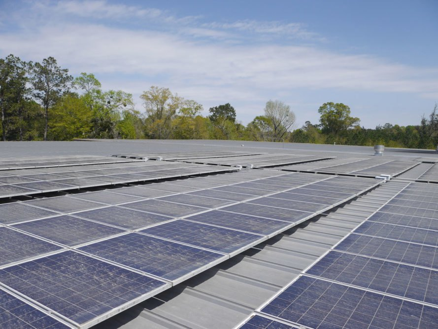 Abita Brewing Company, Abita, Abita Springs, Louisiana, beer, beers, brew, brewing, brewery, green brewery, green brewing, drink, drinks, sustainability, solar, solar power, solar energy, solar panel, solar panels, photovoltaics, rooftop solar