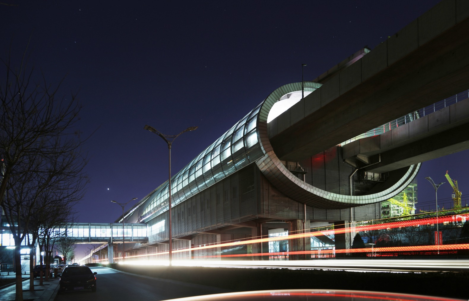 Beijing's futuristic new subway stations are straight out of Blade Runner