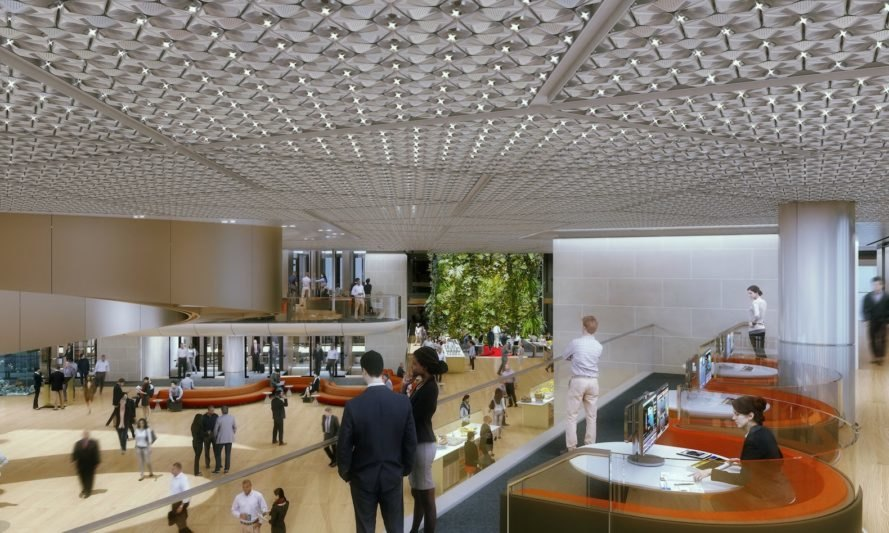Peek Inside Bloomberg S Sustainable New Headquarters In