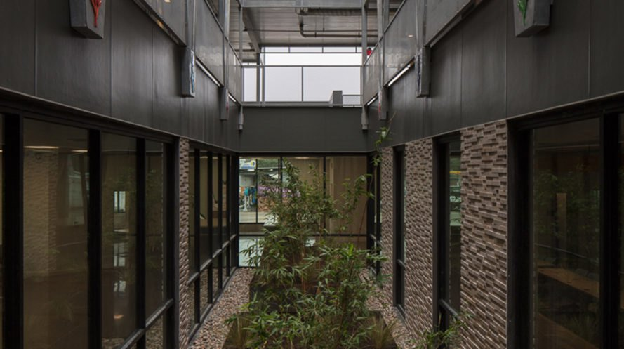Bluebonnet Studios, social housing,Austin, Forge Craft Architecture + Design, Texas, natural light, occupancy sensors, recycled materials, recycling, green architecture