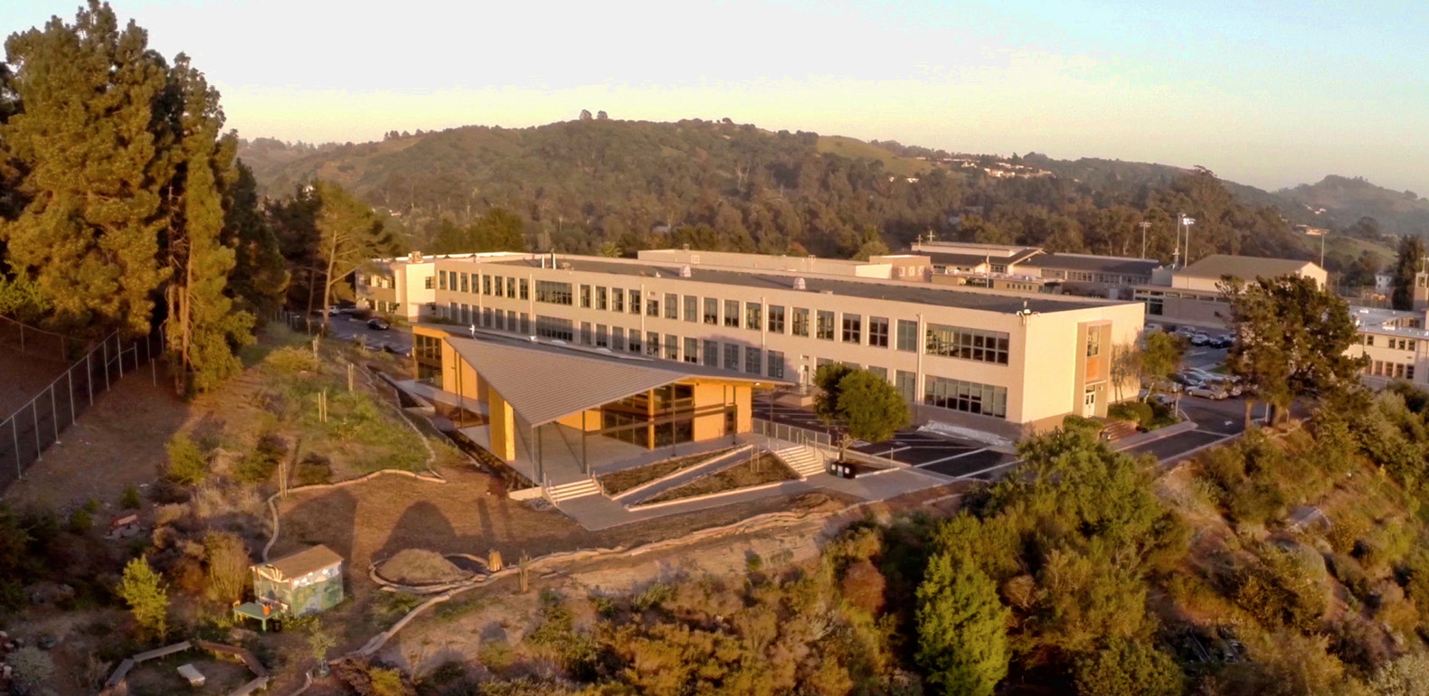 this high school in california embodies sustainability at every