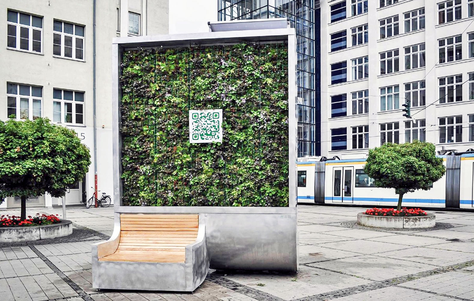This urban 'tree' cleans as much polluted air as an entire forest