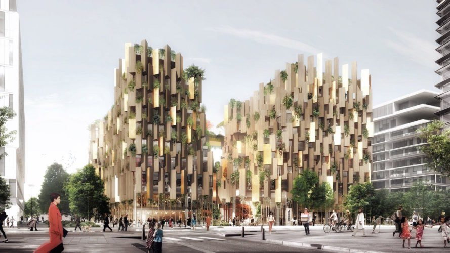 plant-covered architecture, Eco-Luxury Hotel by Kengo Kuma, Eco-Luxury Hotel in Paris, Kengo Kuma architecture Paris, nature-filled architecture Paris, luxury eco-friendly hotels,
