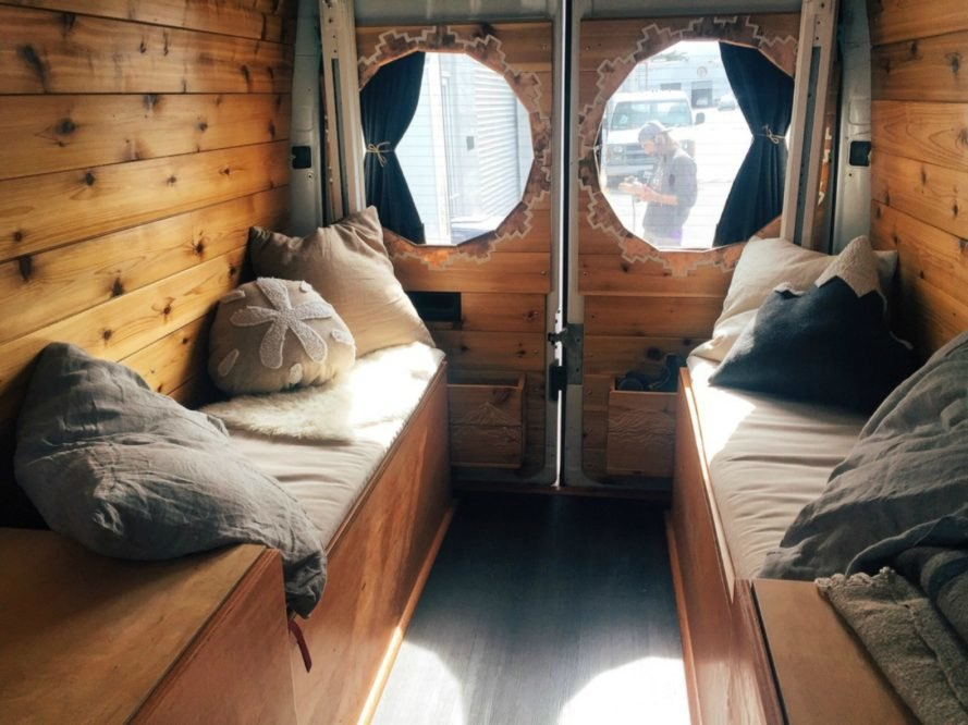 Van Living Home Sweet Converted Tiny Homes