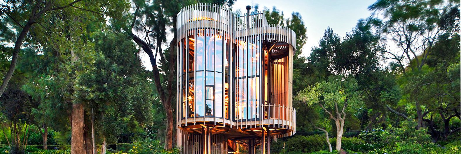 Luxurious tree house Living Room Inhabitat Incredible Luxury Tree House Is Hidden Away In Cape Town Forest