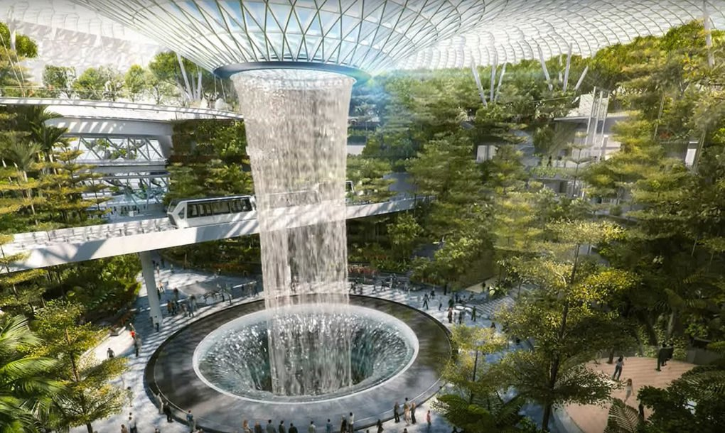 Singapore S Jaw Dropping New Airport Has The World S