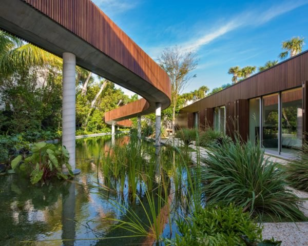 Studio MK-27, 4567 Pine Tree Drive, miami homes, miami home design, miami architecure, interior design, natural pools, all natural lagoons, salt water pool, raw building materials, artificial lagoon, natural swimming pool, indian creek homes, indian creek homes for sale, lagoon design, swimming lagoon, natural building materials, green space, tropical garden design