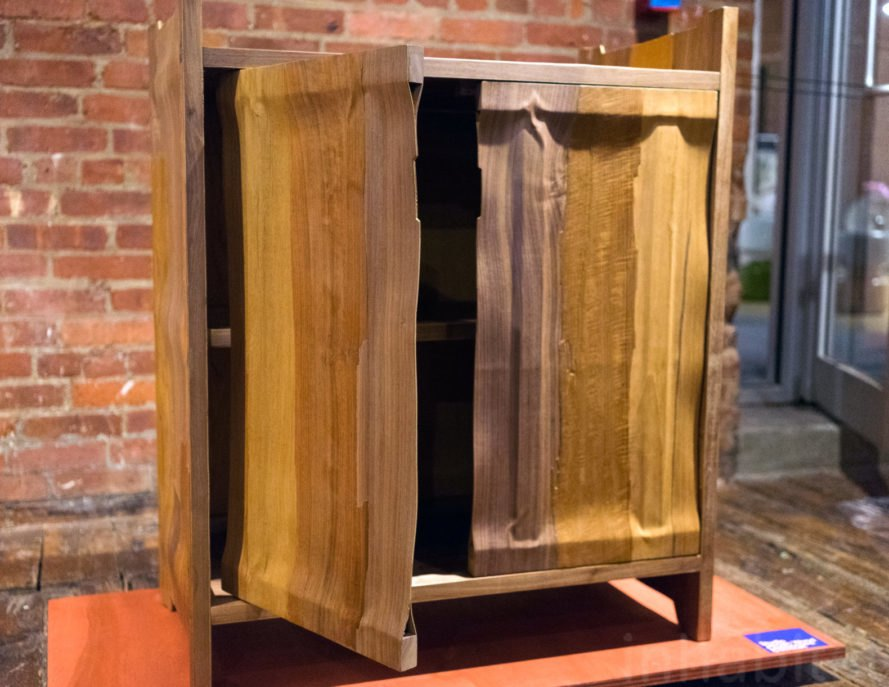 Laminated Cabinet, Studio Jeroen Wand, reclaimed wood, offcut wood, green design, sustainable design, design, products, green interiors, interior design, green furniture, green furnishings, eco design, green interiors, new york design week, nycxdesign, ny design week, wanted design