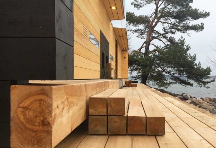 Lonna Sauna hours, Lonna Sauna by OOPEAA, Lonna Sauna in Helsinki, Lonna Sauna in Finland, public saunas in Helsinki, contemporary sauna design, timber sauna natural materials,
