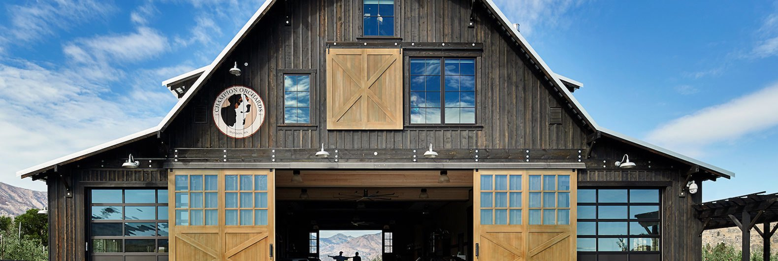 Gorgeous Washington barn house marries rustic elements with modern ...