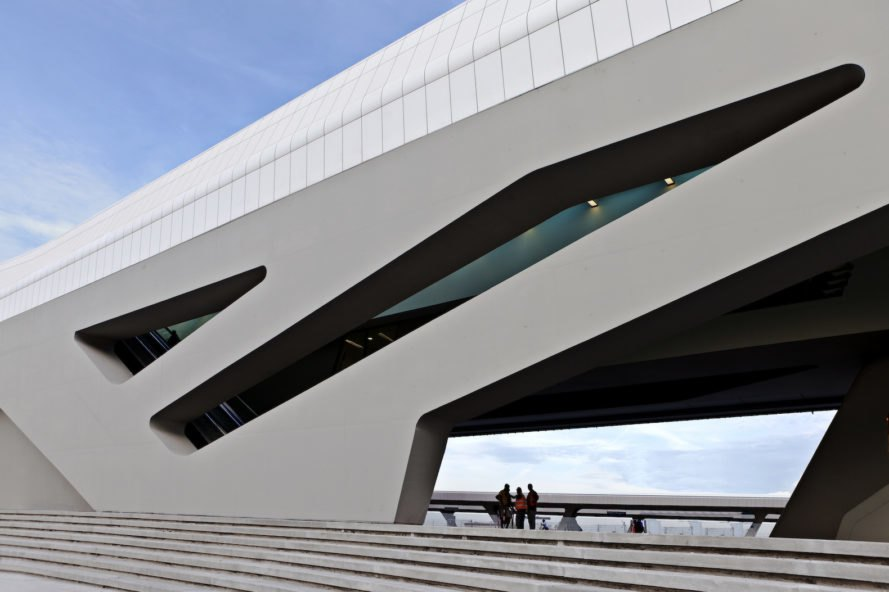 Zaha Hadid Architects Completes First Phase Of Italy S