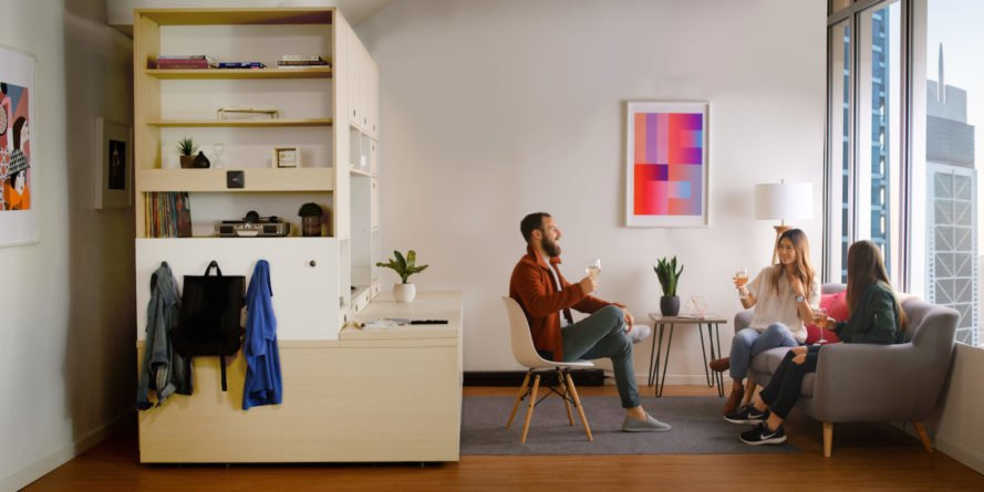 Ori by Yves Behar and MIT Media Lab, transforming furniture, multifunctional furniture, apartment in a box, Ori systems, Ori transforming furniture, Ori by MIT, Ori by Yves Behar,
