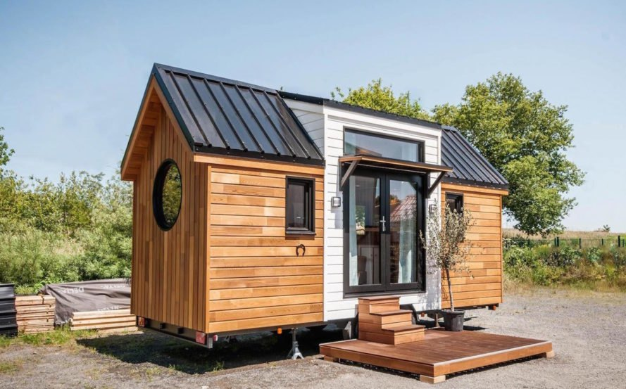 tiny house contractors. Ostara By Baluchon, Baluchon Tiny House Builder, France House, Toulouse Contractors E