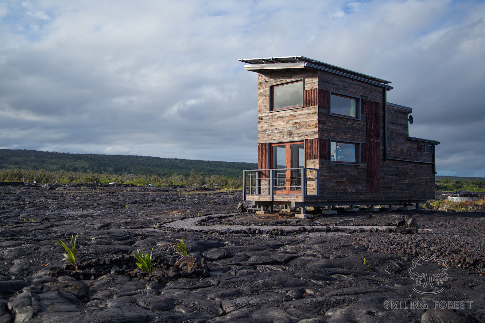 Tiny house inhabitat green design innovation architecture worlds most active volcano harbors a tiny off grid homeand you can stay overnight jeuxipadfo Image collections